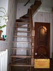 Деревянные лестницы под заказ в Кемерово - foto 1