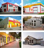 Строительство  СТО,  магазинов,  зданий. Гарантия. Проектирование. - foto 0